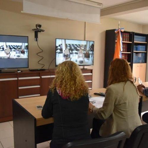 Realizan una mediación por videoconferencia con Santa Fe