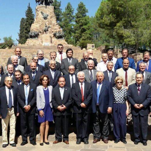 Jueces del Superior Tribunal participaron de la reunión de Ju.Fe.Jus en Mendoza
