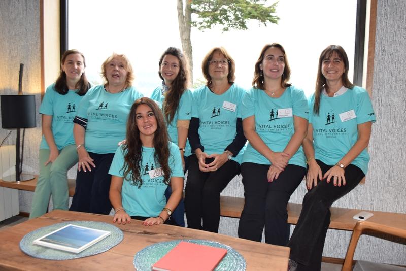 Mujeres judiciales en caminata de Mentoreo (1)