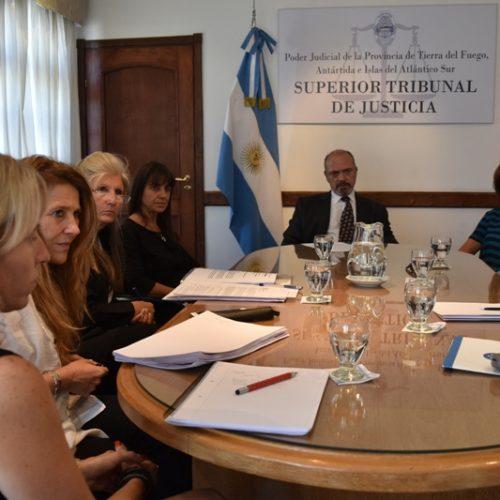 Funcionarios judiciales participarán de comisiones de la COFEJUS en Tierra del Fuego
