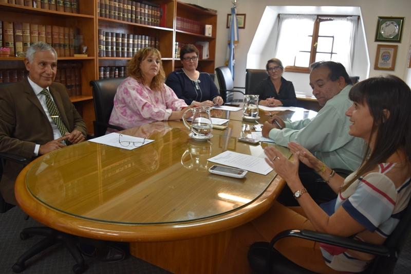 Reunión con Dirección de Sumarios y Concursos