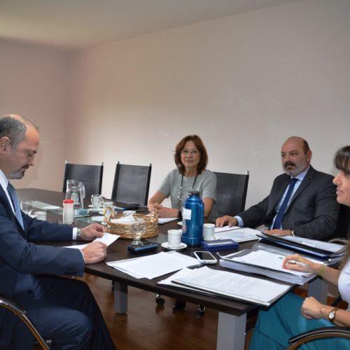 Los jueces del Superior Tribunal de Justicia realizaron reuniones en el Distrito Judicial Norte