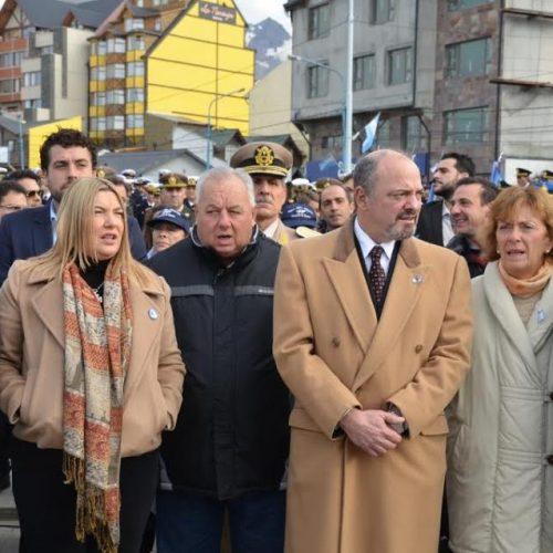 Representantes de Ju.Fe.Jus y del Superior Tribunal de Justicia homenajearon a Caídos y Veteranos de Malvinas