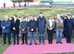 Autoridades en la Ceremonia de Homenaje a la Actuación de la Prefectura Naval Argentina en Guerra de Las Malvinas