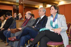 Doctor Gustavo Ariznabarreta,Doctora Ana María D´Alessio y Doctor Oscar Fappiano
