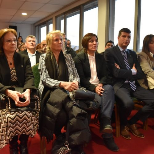 La Doctora Battaini participó de la presentación del Programa para resolución de conflictos