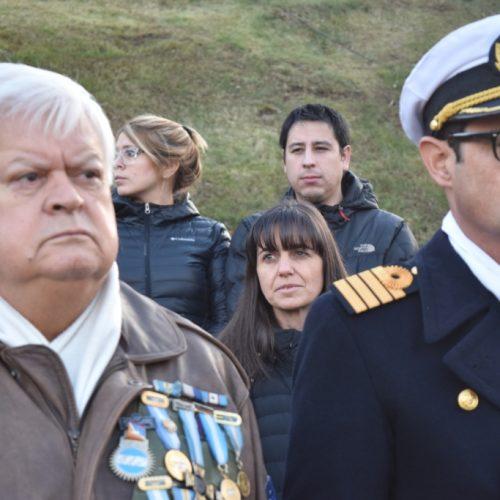 Rinde homenaje a la actuación de la Prefectura Naval Argentina en la contienda bélica de Malvinas