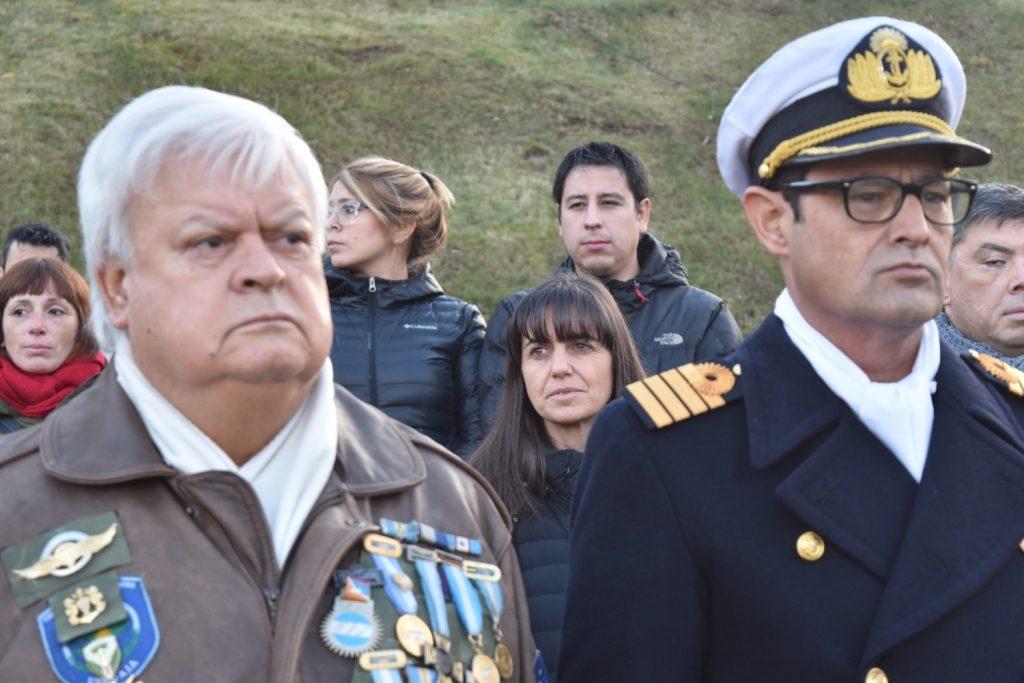 Dra Name en la Ceremonia de Homenaje a la Actaución de la Prefectura Naval en al guerra de Malvinas 2