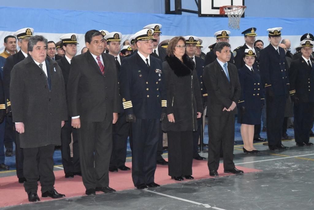 Doctora Battaini en el acto por los 207 Aniversario de la Prefectura Naval Argentina 2 (1)