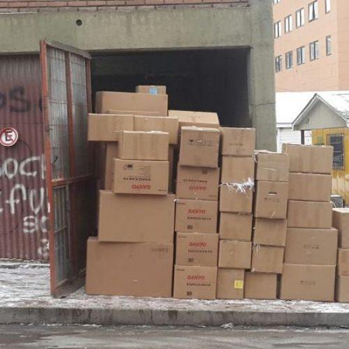 El Poder Judicial colaboró con 500 cajas de papel para la Fundación Garrahan