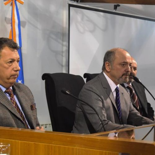 """Maestría en Magistratura: Sagastume destacó el """"compromiso de los funcionarios con la gestión judicial"""""""