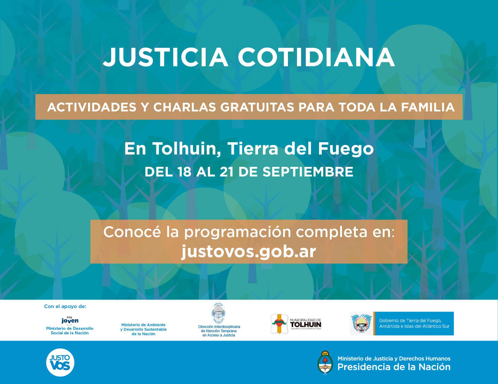 Flyer justicia cotidiana