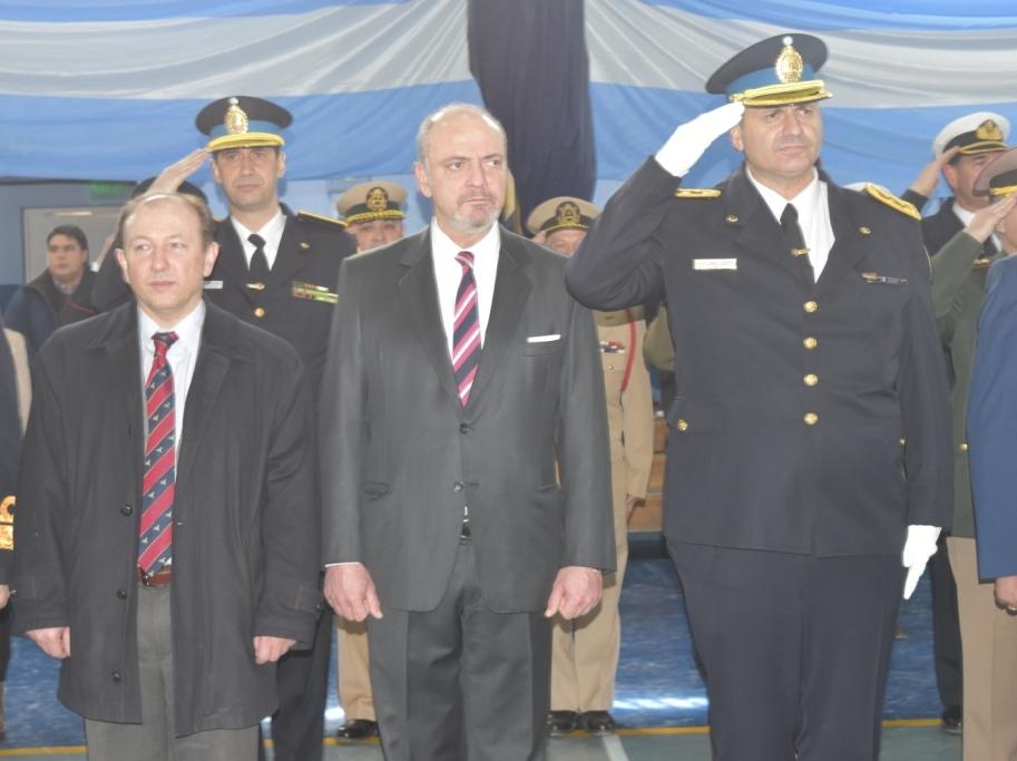 Doctor Sagastume en el Acto por el 196º Aniversario de la Policia Federal 3