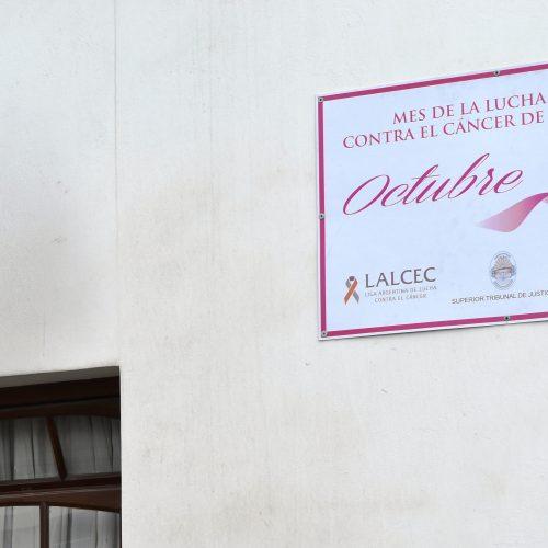 El Superior Tribunal de Justicia se suma a la concientización sobre el Cáncer de Mama