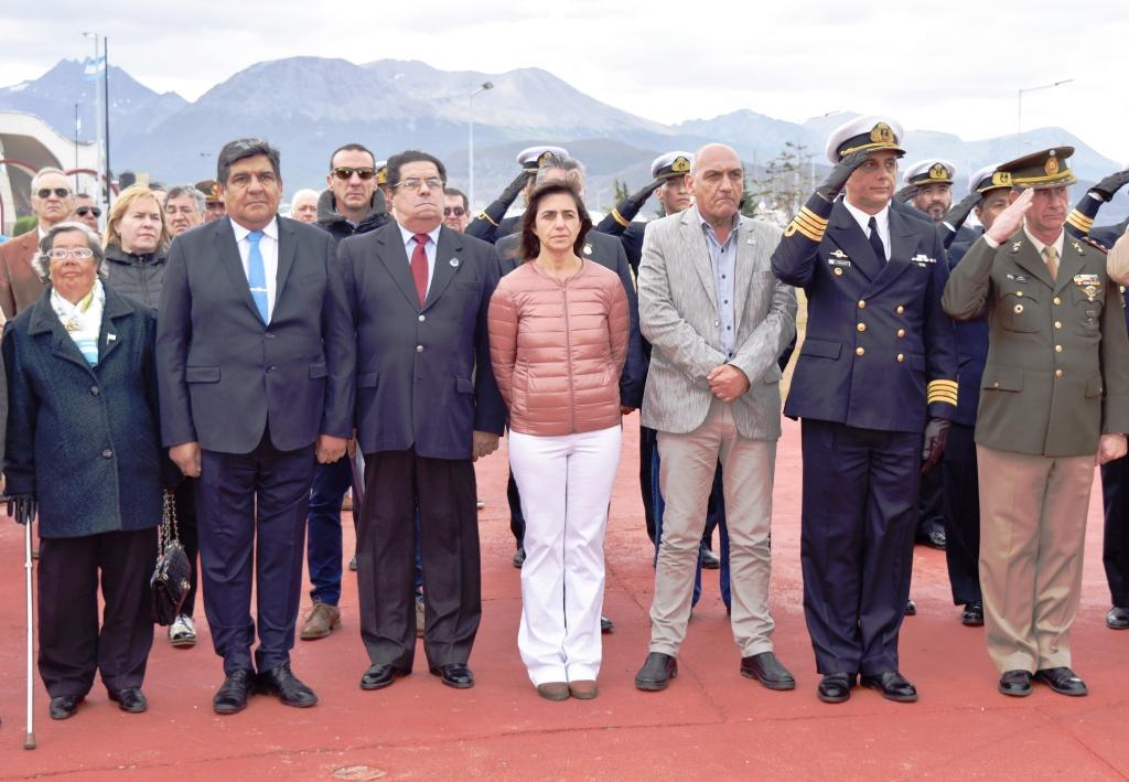 Doctora Jessica Name en el 240º Aniversario del Natalicio del General San Martín