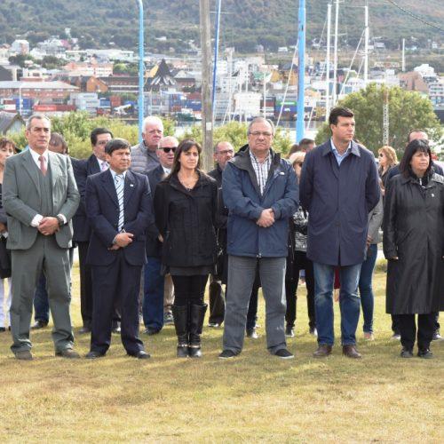 El Superior Tribunal de Justicia estuvo presente en acto por el Día de la Antártida