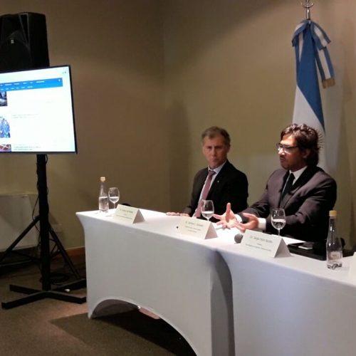 Presentan el Sistema Informático de Órdenes de Captura en Bariloche