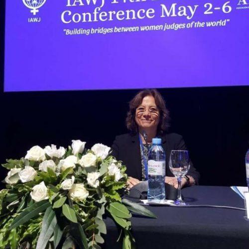 La Doctora Battaini ofició de moderadora en la 14ª Conferencia Bienal de la Asociación Internacional de Mujeres Jueces