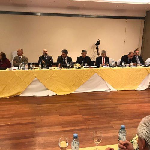Muchnik y Battaini participaron de la reunión de JUFEJUS en Chaco