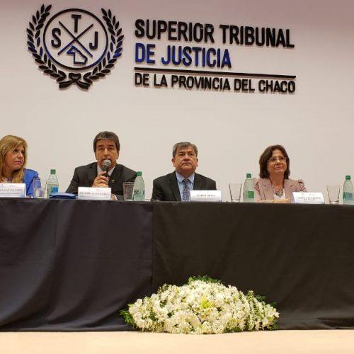 """Battaini disertó en un panel sobre """"La visión Institucional de los Consejos de la Magistratura"""""""