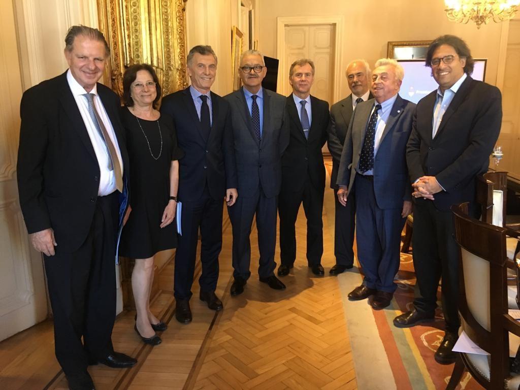 La JuFeJus se reunió con Macri