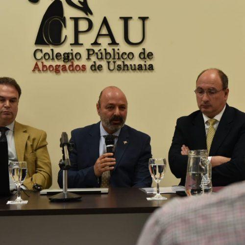 Muchnik realizó la apertura de la reunión sobre oralidad en la etapa de prueba en procesos civiles y comerciales