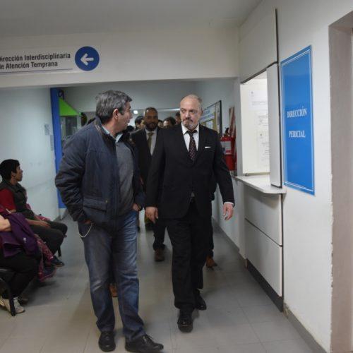 En Ushuaia el Doctor Sagastume visitó unidades funcionales