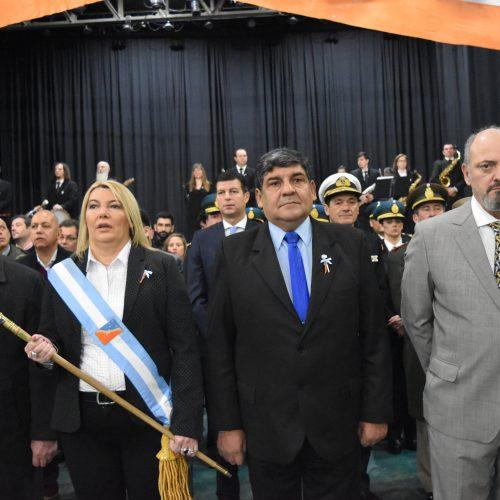 El Superior Tribunal de Justicia asistió al acto por el Día de la Provincia de Tierra del Fuego