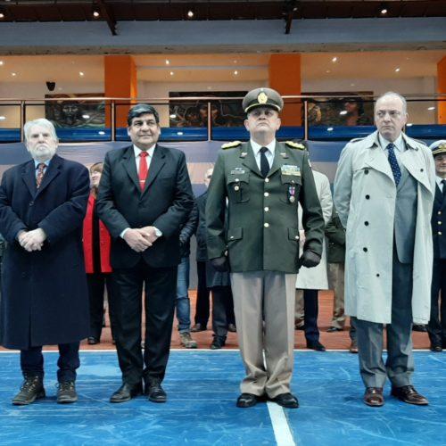 El Superior Tribunal de Justicia participó de la ceremonia por la creación de la Gendarmería Nacional Argentina