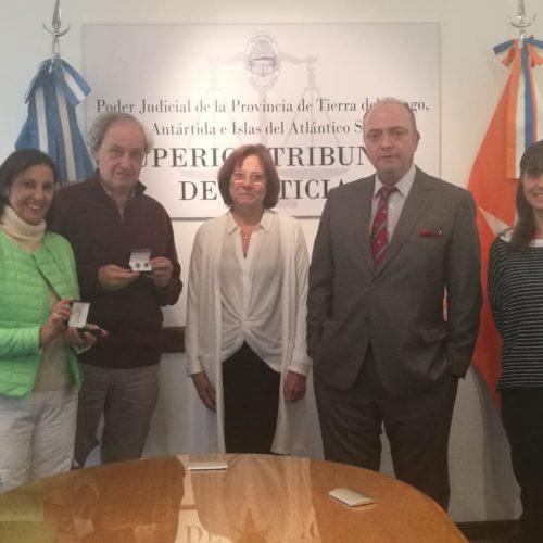 Visita protocolar del catedrático español Doctor Manuel Atienza