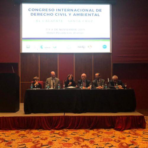 El Superior Tribunal de Justicia presente en el Congreso Internacional de Derecho Civil y Ambiental