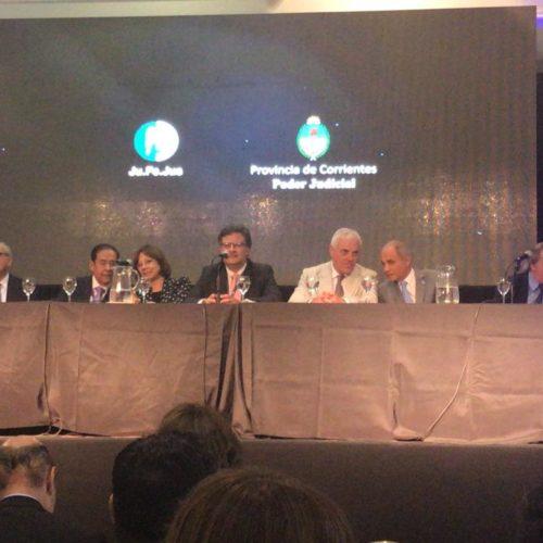 La Doctora Battaini abrió el VII Congreso Argentino de Justicia y Tecnología en Corrientes