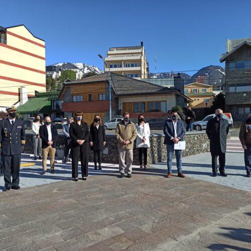 El Superior Tribunal de Justicia presente en el acto por el Bicentenario del Primer Izamiento de la Bandera Argentina en las Islas Malvinas