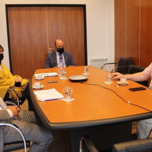 El Presidente del STJ se reunió con integrantes del SEJUP
