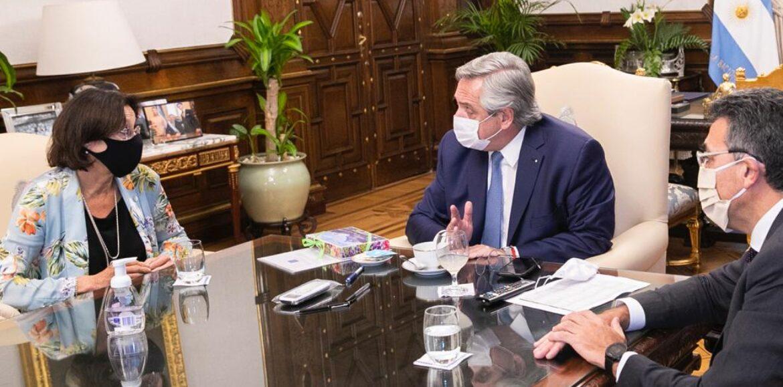 La vicepresidenta del Superior Tribunal de Justicia se reunió con el Presidente Alberto Fernández