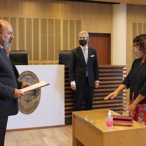 Juraron los relatores del juez Ernesto Adrián Löffler
