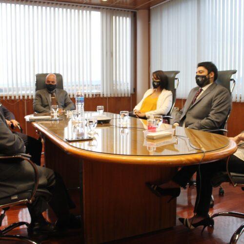 El Superior Tribunal de Justicia recibió al Colegio Público de Abogados de Ushuaia