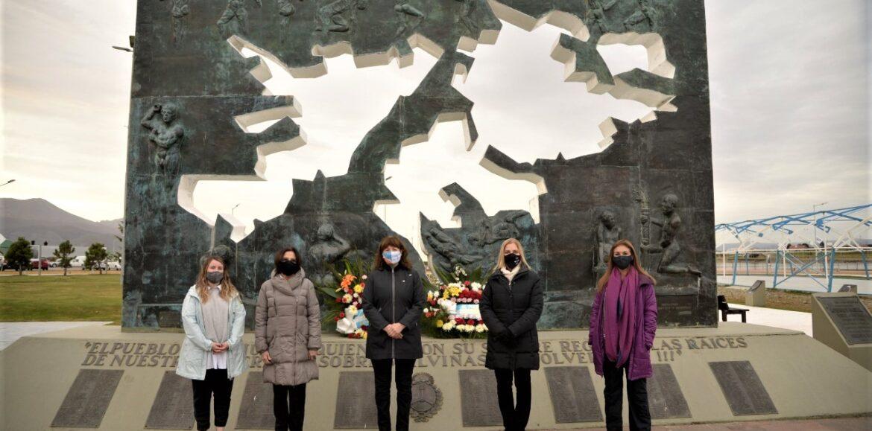 El Superior Tribunal participó de la ceremonia por el Día del Veterano y los Caídos en la Guerra de Malvinas