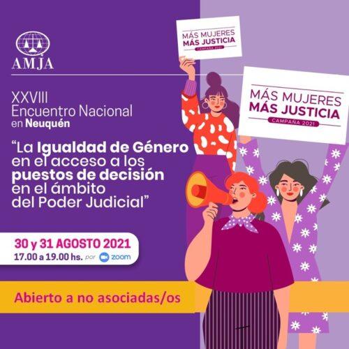 Neuquén será sede del XXVIII Encuentro Nacional de AMJA