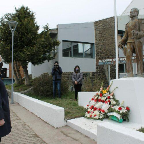 El STJ presente en ceremonia por el aniversario del fallecimiento del comandante Laserre