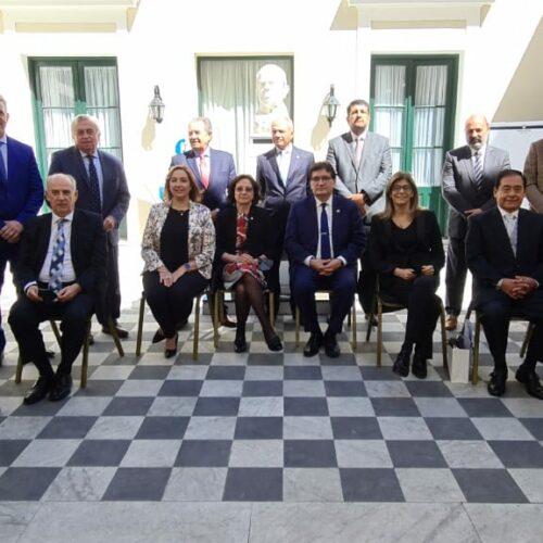 LA JUNTA FEDERAL DE CORTES SESIONÓ CON LA PRESENCIA DE LOS JUECES DEL STJ EN LA CASA DE SAN JUAN